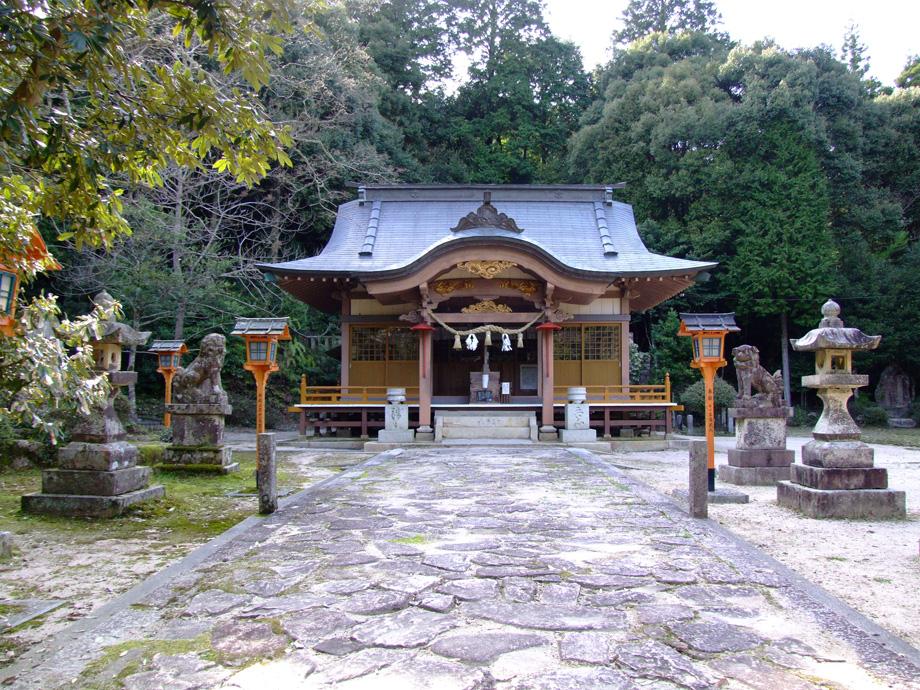 境内紹介 三坂神社